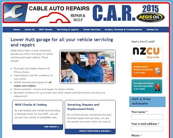 cable autos site