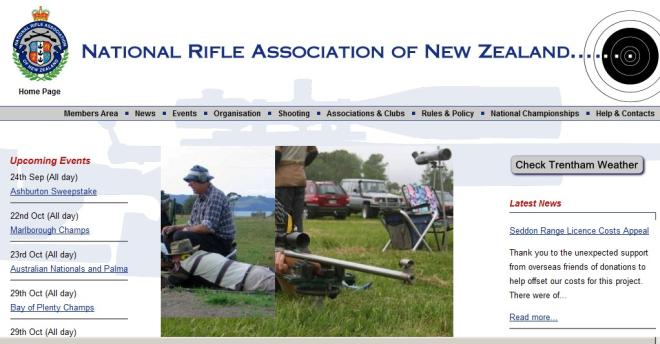 National Rifle Association (NZ) fullbore shooting