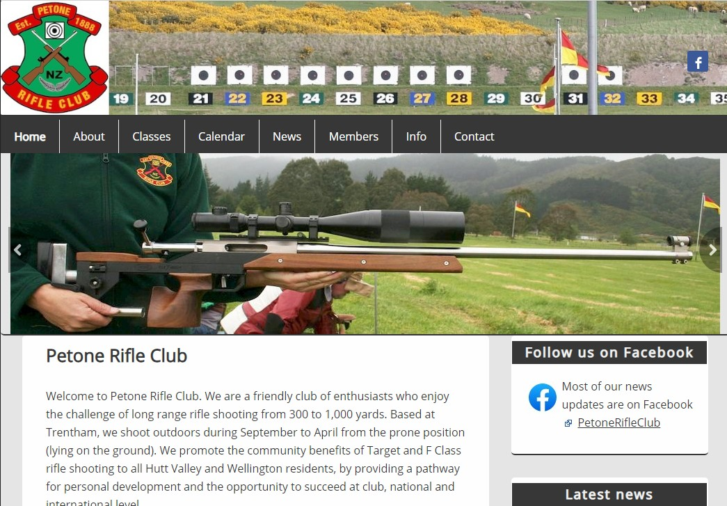 Petone Rifle Club fullbore shooting