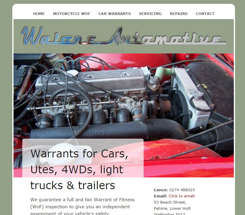 Waione Automotive Motorcycle Warrants