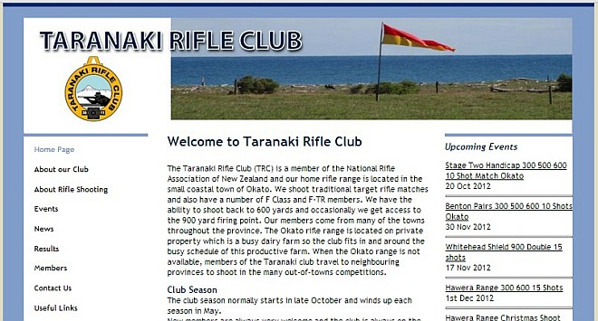 Taranaki Rifle Club fullbore shooting