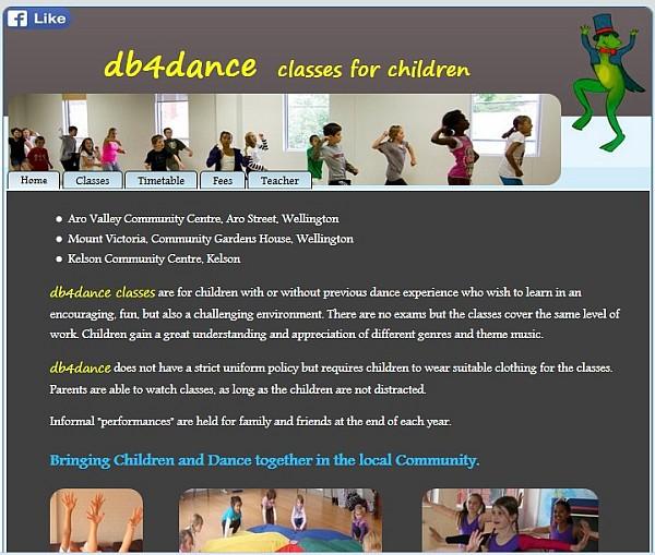Wellington Dance class